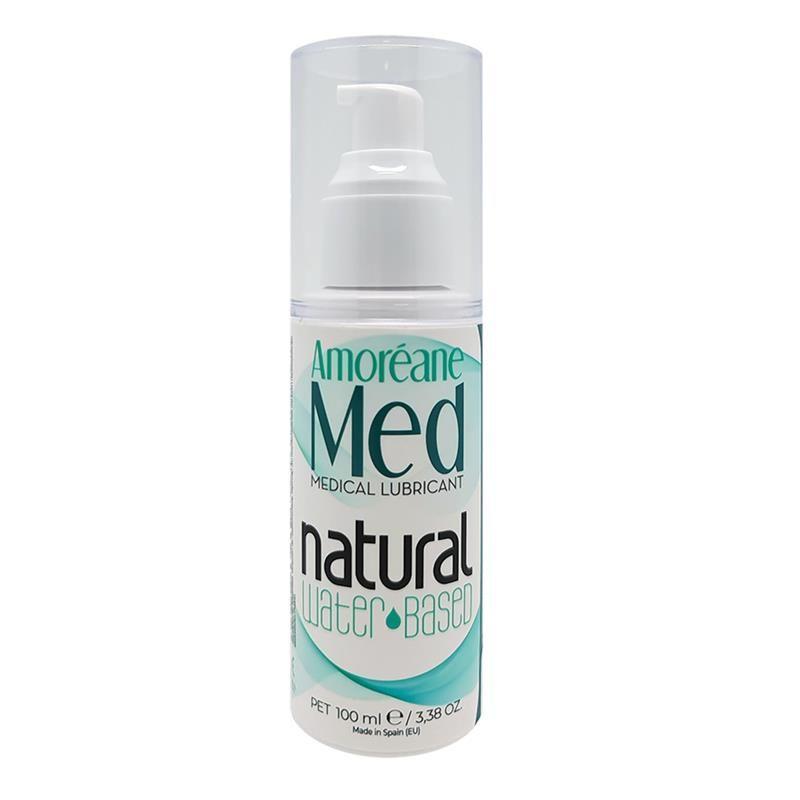 Смазка на водной основе с фитопланктоном Amoreane Med Natural (100 мл)