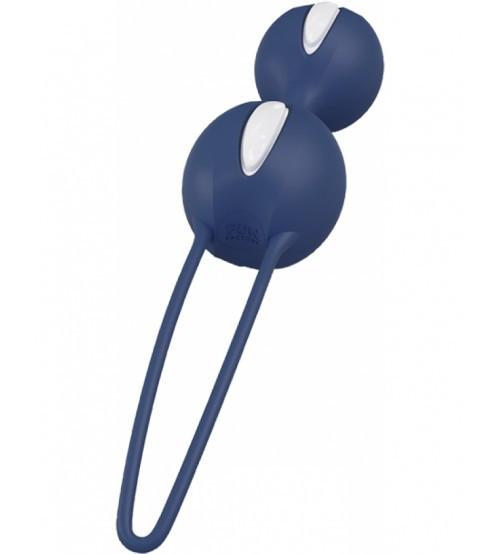 Вагінальні кульки Fun Factory SMARTBALLS DUO синій
