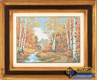 Схема для вышивки бисером - Золотая осень, Арт. ПБп3-004