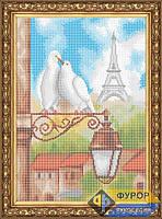 Схема для вышивки бисером - Любовь в Париже, Арт. ПБп3-019