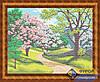 Схема для вышивки бисером - Цветущая весна, Арт. ПБп3-021