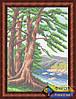 Схема для вышивки бисером - На берегу реки, Арт. ПБп3-028