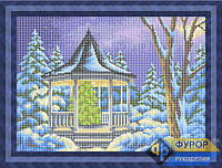 Схема для вышивки бисером - В ожидание Нового года, Арт. ПБп3-033