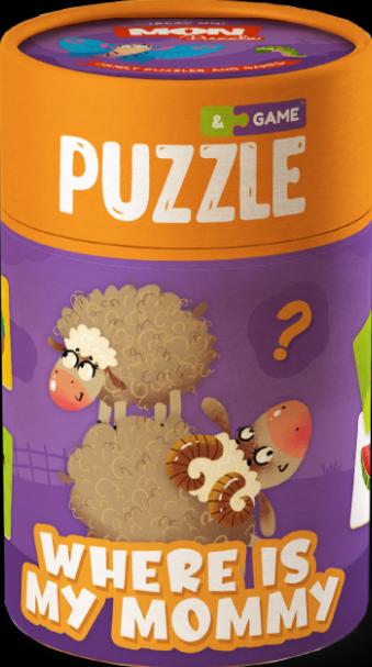 """Пазл и игра Mon Puzzle """"Где моя мама"""" 200101"""