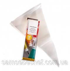 Плотные одноразовые мешки кондитерские 50 штук 30.4 см