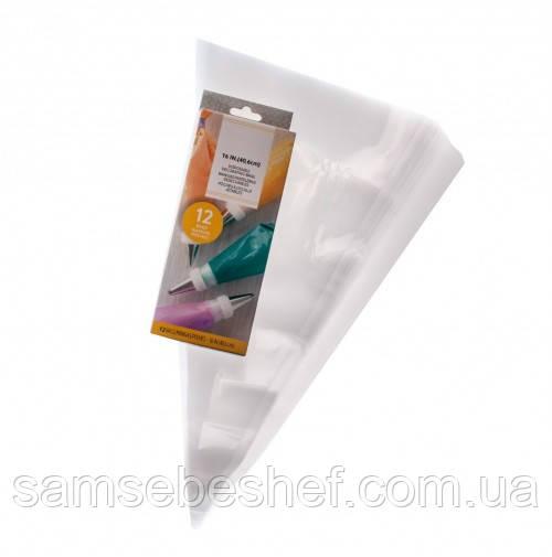 Плотные одноразовые кондитерские мешки 40.6*21.6 см