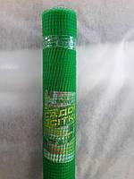 Сетка вольерная 1х100 м,ячейка 12х14 мм (черная,зеленая).Заборы садовые,сетки пластиковые., фото 1