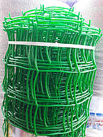 Сітка садова пластикова ,паркани.Осередок 90х90 мм,рул 1х20м