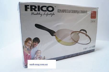 Сковорода FRICO FRU-103 24 см, фото 2