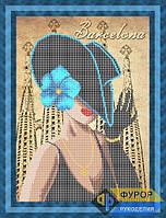 Схема для вышивки бисером - Модница из Барселоны, Арт. ЛБч3-10