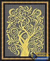 Схема для вышивки бисером - Дерево изобилия, Арт. НБп3-065-1