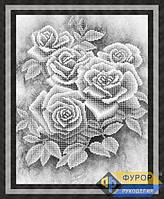 Схема для вышивки бисером - Розы, Арт. НБч3-072-2