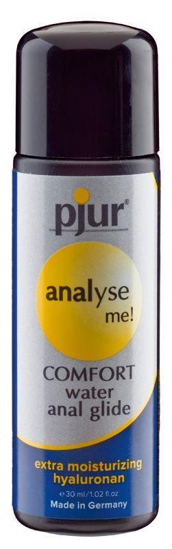Анальная смазка pjur analyse me! Comfort water glide 30 мл на водной основе с гиалуроном