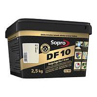 Затирка для швов Sopro DF 10 Серебряно-серый №17 (2,5 кг)