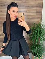 Женское платье с свитером в комплекте. АР-21-0121
