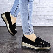 Жіночі туфлі Fashion Boot 1923 36 розмір, 23,5 см Чорний