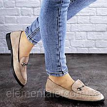 Жіночі туфлі Fashion Fido 1984 40 розмір 25,5 см Бежевий
