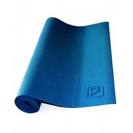 Килимок для йоги LiveUp Yoga Mat 173x61x0.4 см Deep blue (LS3231-04db), фото 2