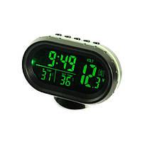 Автомобільні Електронні Годинник VST-7009V Термометр, фото 1