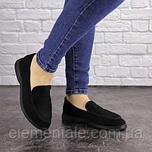 Жіночі туфлі Fashion Rusty 1630 38 розмір 24 см Чорний