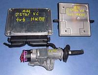 Блок управления двигателем комплект ( ЭБУ )AudiA4 2.5tdi V6 24V2001-20048E0907401D , Bosch 0281010823