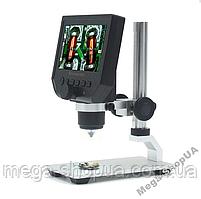 """Микроскоп цифровой электронный 1000Х с монитором 4.3"""" для наблюдения, пайки, детей. Мікроскоп цифровий FR761SD"""