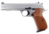 Пістолет пневматичний SAS P 210 Silver Blowback