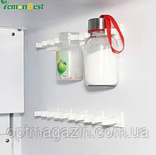 Універсальний кухонний органайзер Clip n Store для шаф і холодильників