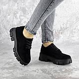 Туфли женские 36 размер 23,5 см Черные, фото 2