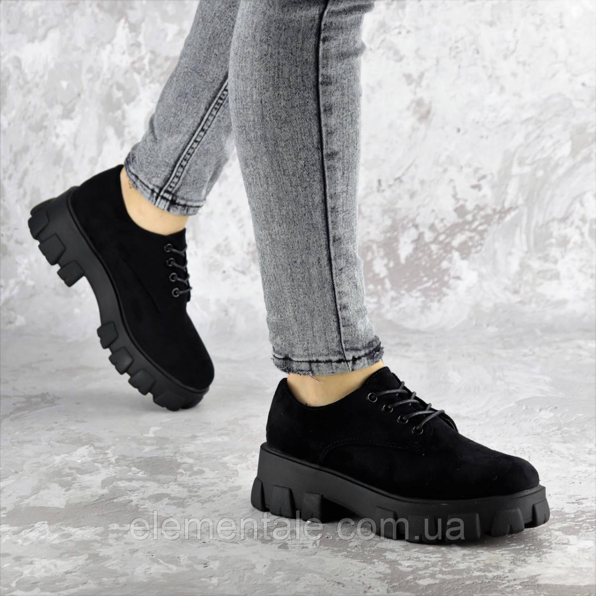 Туфли женские 41 размер 26 см Черные