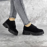 Туфлі жіночі Fashion Chomper 2340 41 розмір 26 см Чорний, фото 4
