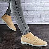 Туфлі жіночі Fashion Diana 1875 36 розмір, 23,5 см Бежевий, фото 6