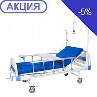Кровать механичесчая медицинская четырехсекционная Биомед HBM-2M, фото 1