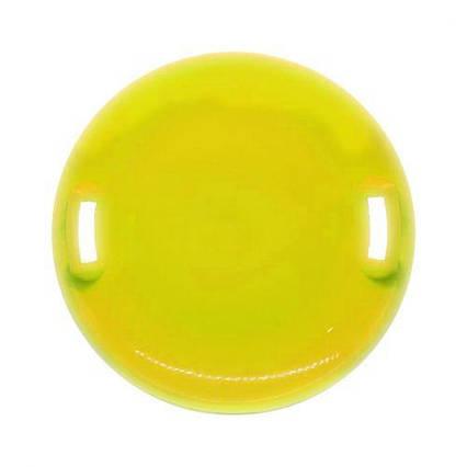 "Санки-ледянка ""НЛО"", 61 см, желтый 170024"