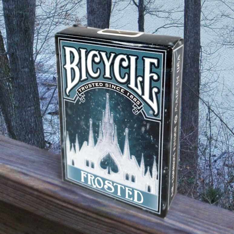 Карты игральные | Bicycle Frosted
