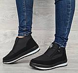 36р. Ботинки женские демисезонные кроссовки на молнию (Бт-10ч), фото 2