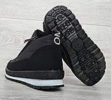 36 Розмір! Демисезонные женские зимние ботинки - кроссовки на молнии (Бт-10ч), фото 6