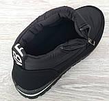 36 Розмір! Демисезонные женские зимние ботинки - кроссовки на молнии (Бт-10ч), фото 8