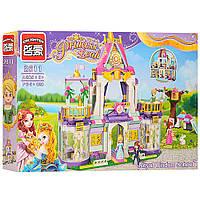 """Конструктор для девочек """"Замок принцессы"""" 628 деталей, код 2611"""