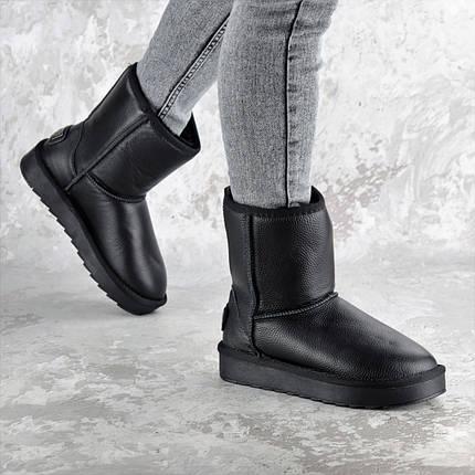 Угги женские Fashion Cinnamon 2342 40 размер 25,5 см Черный, фото 2