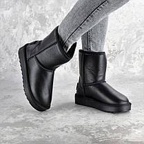 Угги женские Fashion Cinnamon 2342 40 размер 25,5 см Черный, фото 3