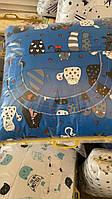 Набор детского постельного белья 9 предметов, Бортики в кроватку малыша, Защита в манеж