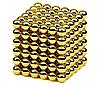 Неокуб Магнітний конструктор-головоломка NeoCube 216 кульок по 5 мм золото, фото 4