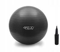 Мяч для фитнеса фитбол 4FIZJO 85 см Anti-Burst Black SKL41-238061
