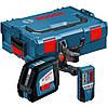 Нивелир лазерный Bosch GLL 2-50 + BM1 (новый) + LR2 в L-Boxx 0601063109