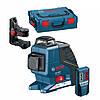 Нивелир лазерный Bosch GLL 2-80 P + BM1 (новый) + LR2 в L-Boxx 0601063209