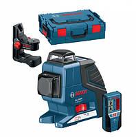 Нивелир лазерный Bosch GLL 2-80 P + BM1 (новый) + LR2 в L-Boxx 0601063209, фото 1