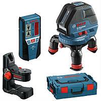 Нивелир лазерный Bosch GLL 3-50 + BM1 + LR2 + L-BOXX 0601063803