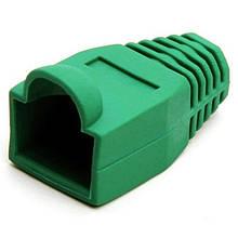 Ковпачок для конекторів Merlion (CPRJ45ML-GN/05345) Green, 100 шт/уп.