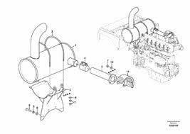 Глушитель VOE14555555 для Volvo EC 210B
